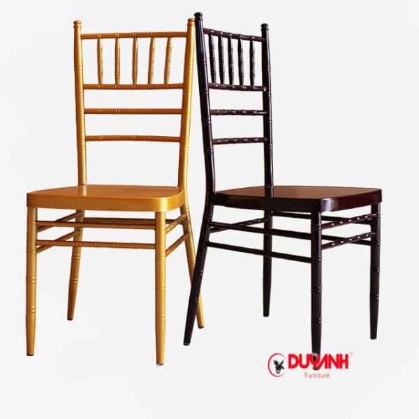 ghế chiavari tiffany nhập khẩu màu nhũ vàng đồng
