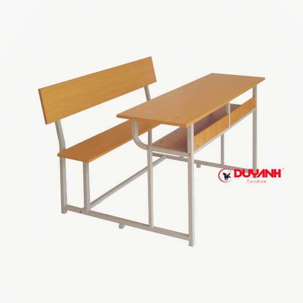 Bàn ghế đôi học sinh có tựa