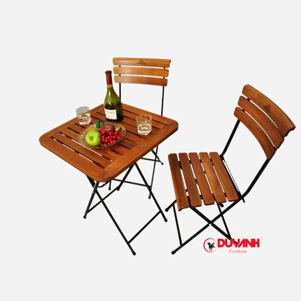 Bàn cafe gấp fansipan patio